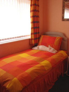 Single room at Tracy Ann House