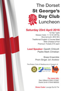 St Georges Day Flyer