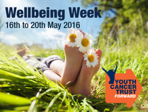 Wellbing themed week at Youth Cancer Trust